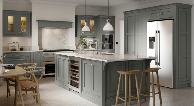 kitchens in burryport, wales by steve williams - clarendon